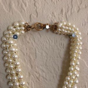 J. Crew Jewelry - J Crew Multiple Strand Pearl Necklace